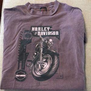 Harley-Davidson Men's Xlarge  Vintage T-shirt SS